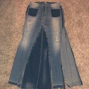 True Religion Denim Skirt